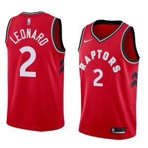 Toronto Raptors Kawhi Leonard Red Jersey